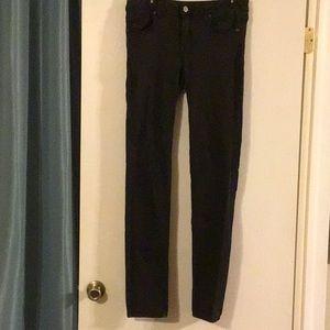 American Eagle Black X-Long Skinny Jeans